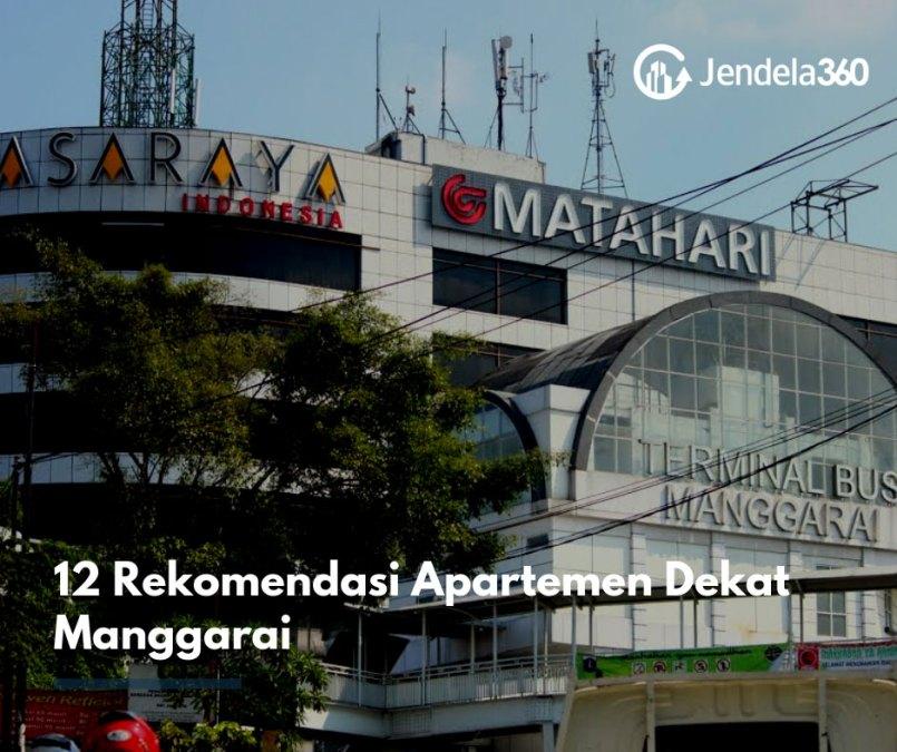 12 Rekomendasi Sewa Apartemen Dekat Manggarai