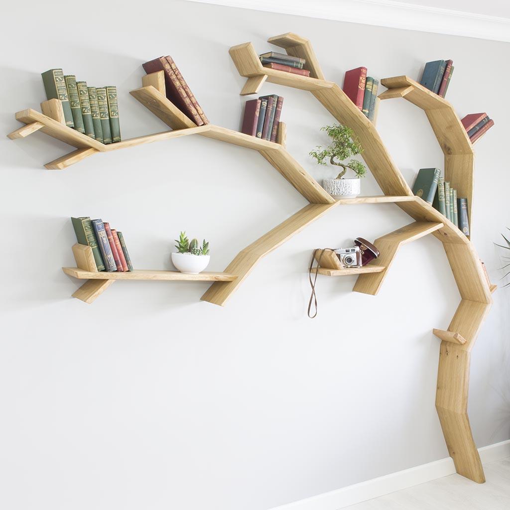 Rak Buku Pohon