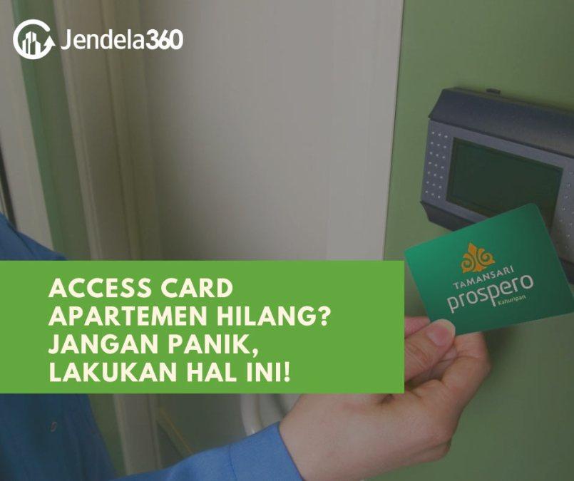 Kehilangan Access Card Apartemen? Jangan Panik, Lakukan Hal Ini!