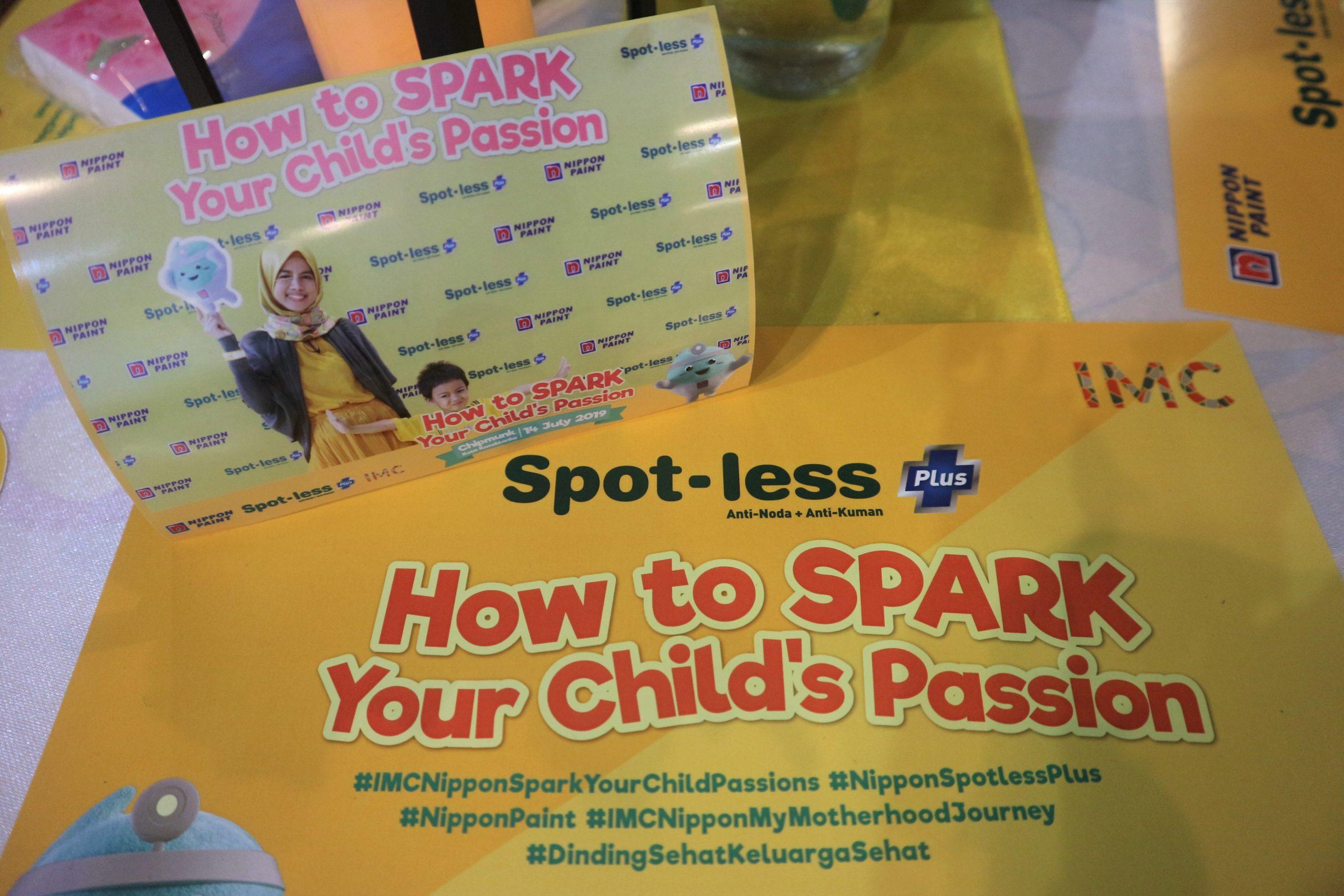 Bantu Potensi Anak Bersama Nippon Spot Less Plus