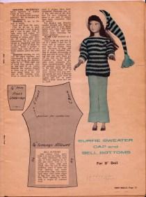Teen Doll Pattern Book