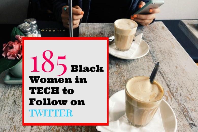 185 black women in tech
