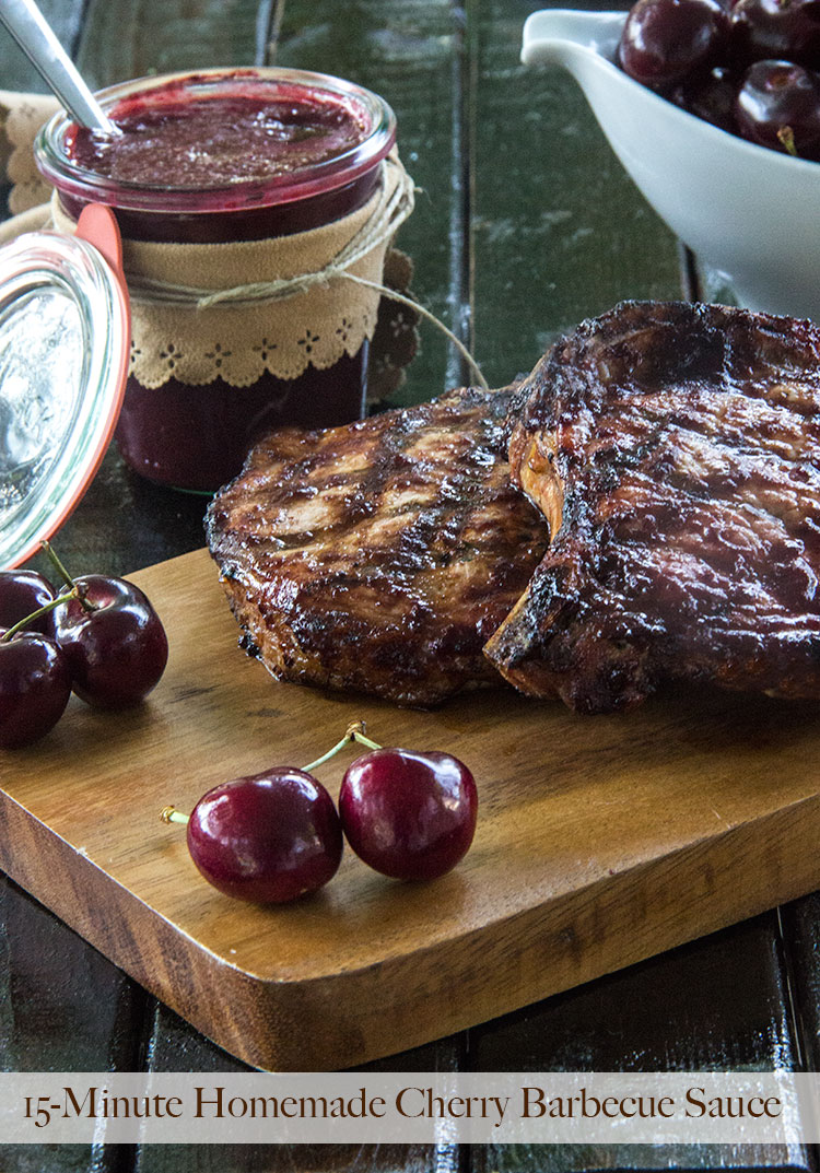 15-Minute-Cherry-Barbecue-Sauce