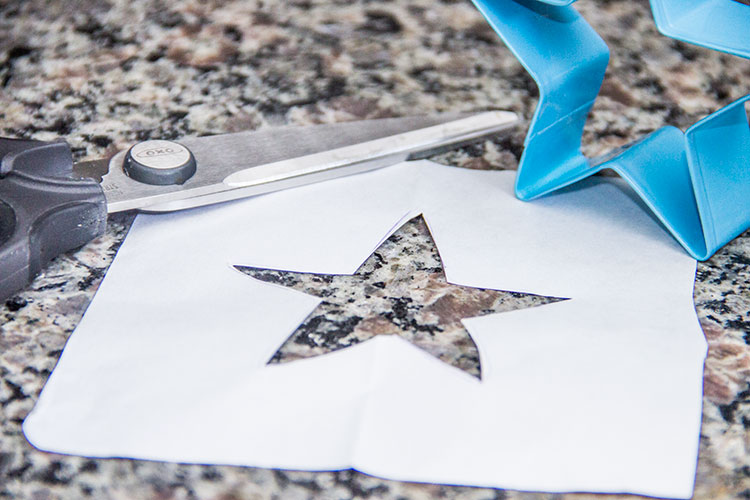 star-cut-out