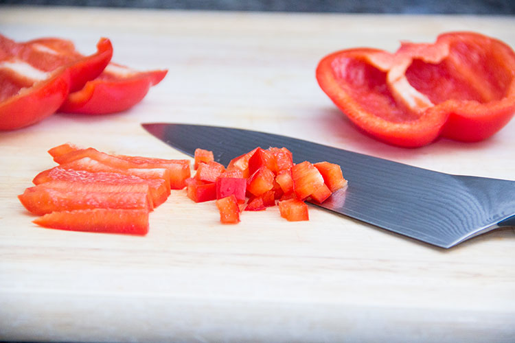 dicing-red-bell-pepper