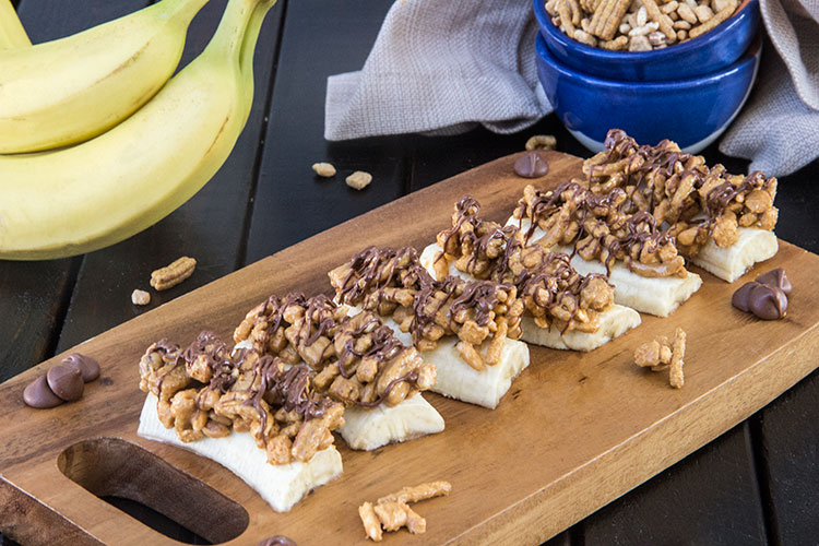 Peanut-Butter-Crunch-Banana Bites