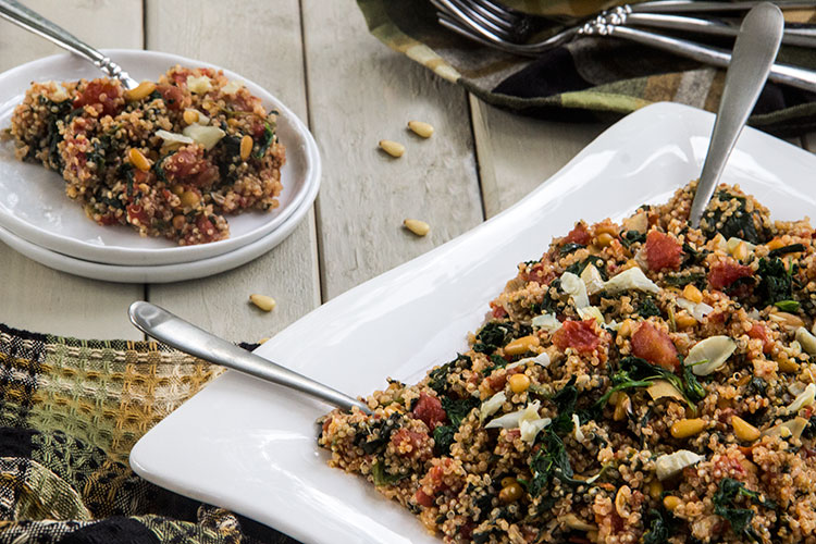 Mediterranean-Tomato-Quinoa-with-Spinach-and-Artichokes