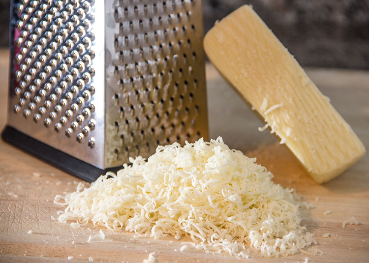 grate-provolone-cheese