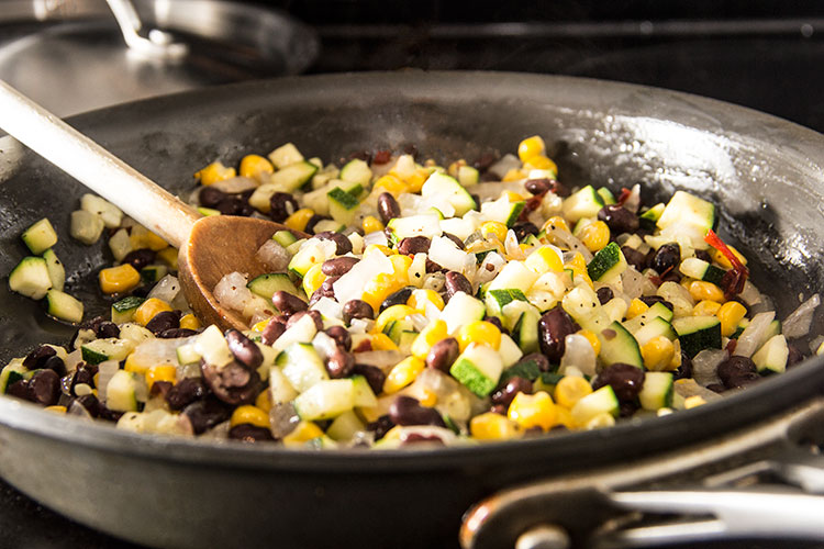 cook-black-bean-corn-zucchini