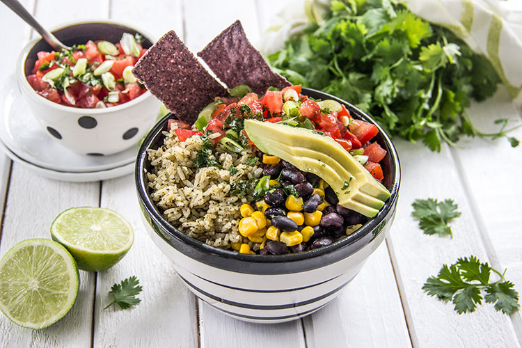 Cilantro-Lime-Avocado-Rice-Bowl