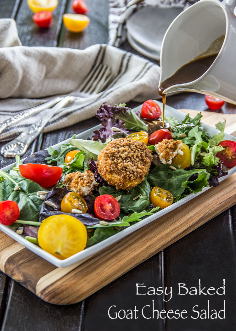 Warm-Baked-Goat-Cheese-Salad