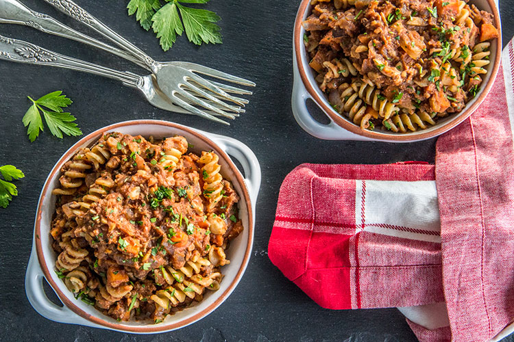 Meatless-Chickpea-Ragu-Pasta