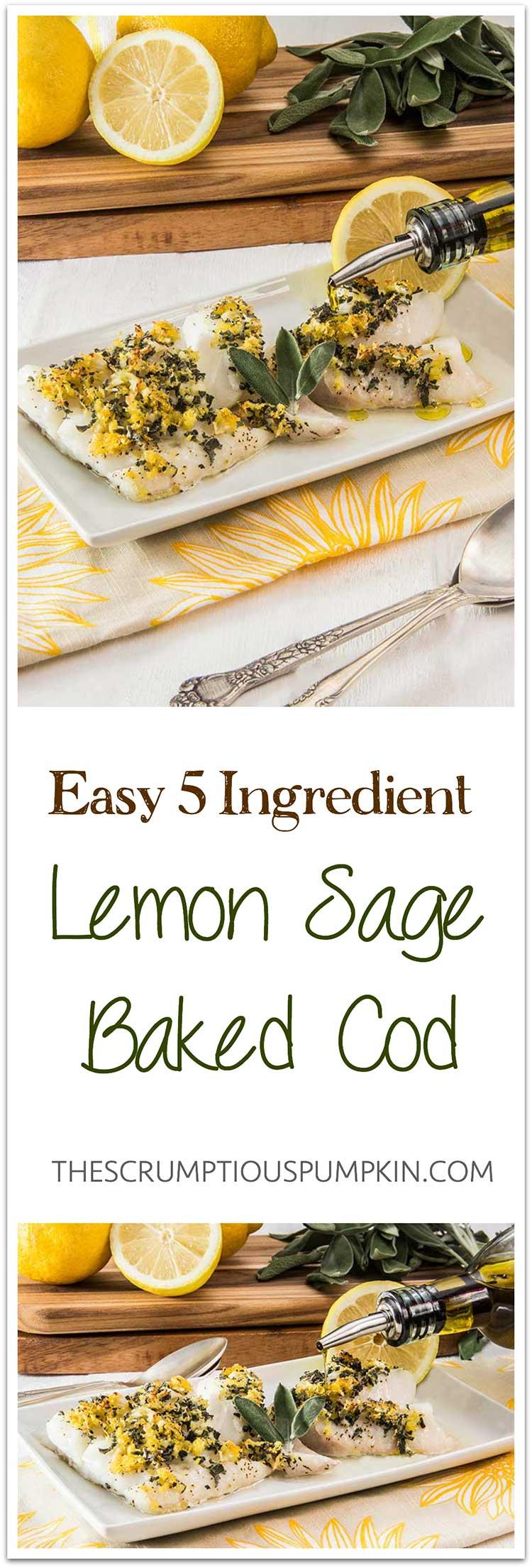 Easy-5-Ingredient-Lemon-Sage-Baked-Cod