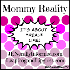 Mommy Reality Ombre Button