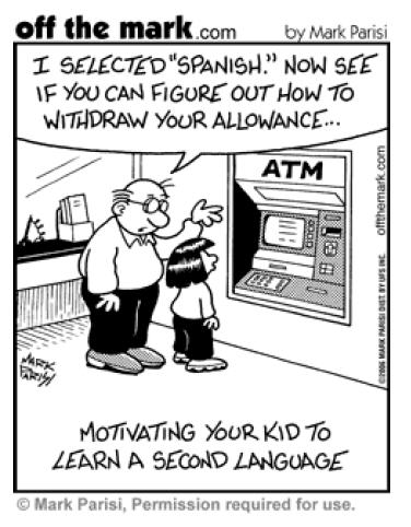 Cartoon Friday~ Language & Communication (+ find the