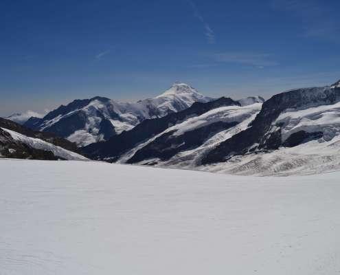 Swiss Alps Hiking to Jungfrau Mountain Hut