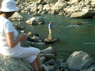 Fishing on the Rungeet