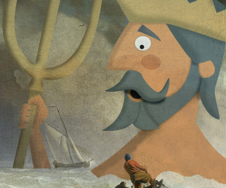 Triton illustrated by Jennifer Farley
