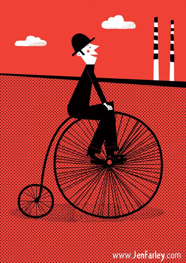 Damn Fine Dublin illustrated by Jennifer Farley