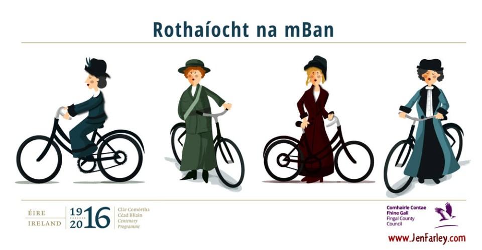 1916-Rising-Women-On-Bicycles---Jennifer-Farley