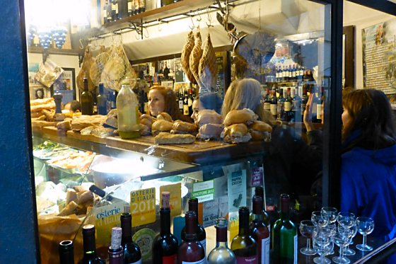 All'Antico Vinaio sandwich shop in Florence