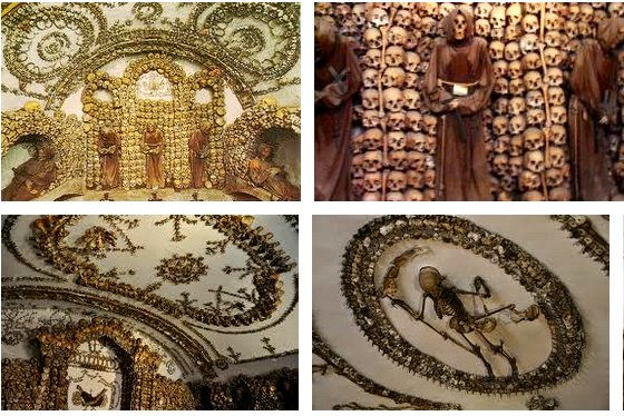 """More images from a Google search of """"Capuchin Crypt"""""""
