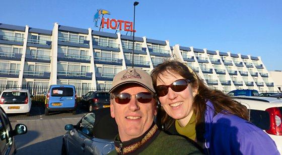 The Van der Valk Hotel Schiphol.
