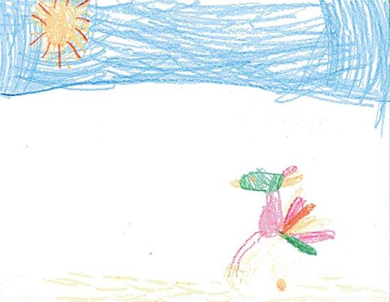 Jillian's Golf Bird illustration
