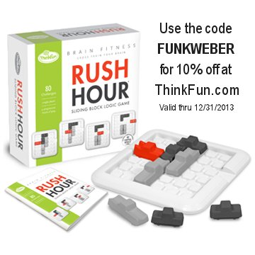 The Rush Hour game.