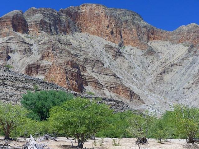 Rocky mountains near Puros, Namibia