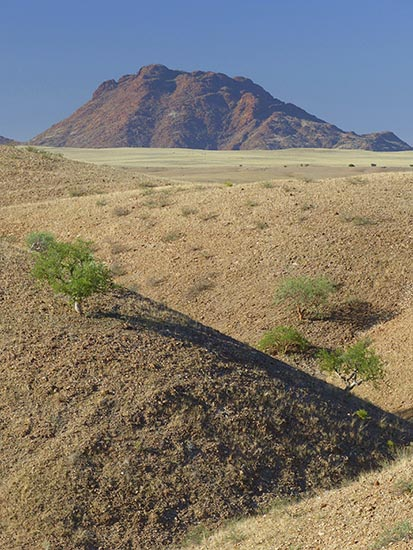 Hills and valleys in Namib-Naukluft National Park