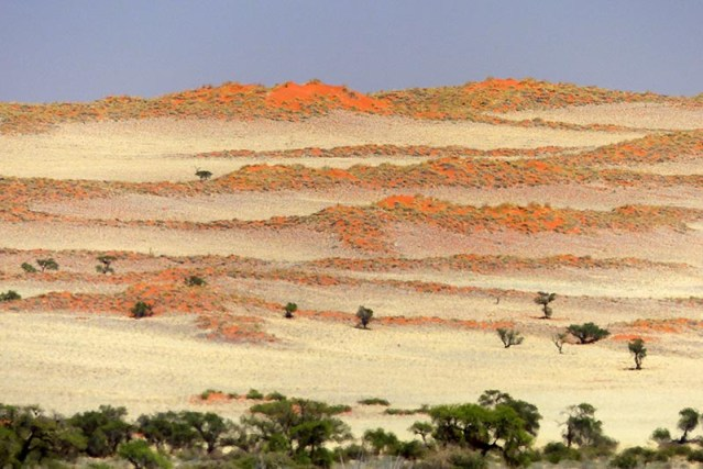 Mountains give way to dunes, Namib-Naukluft National Park