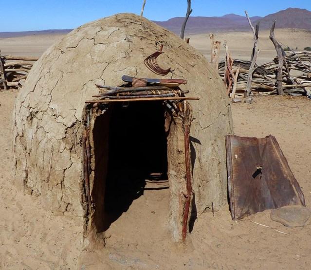 Himba mud hut