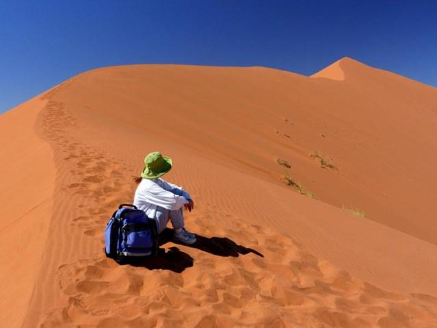 Top of Slip Face, Big Daddy Dune, Namib-Naukluft National Park