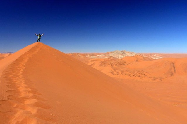 On top of Big Daddy Dune, Namib-Naukluft National Park