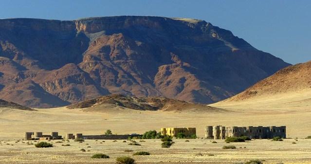 Castle, Namibia Desert