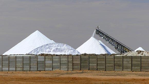 Salt Works, Walvis Bay, Namibia