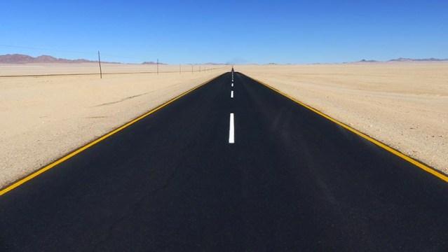 Road to Luderitz, Namibia