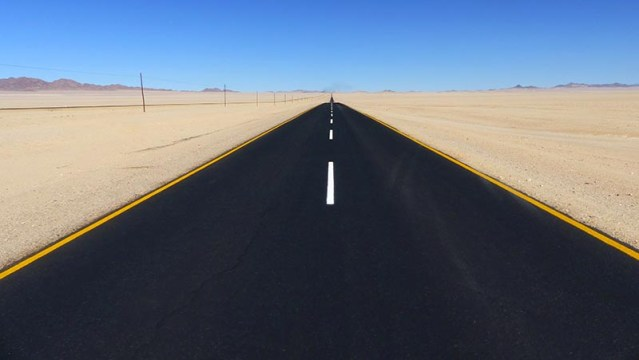 Road to Luderitz, Namibia