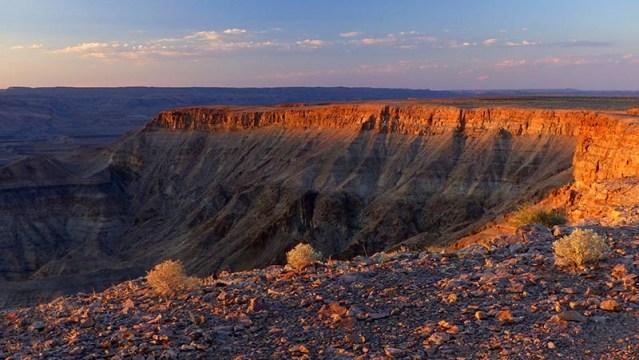 Sunset at Fish River Canyon, Namibia