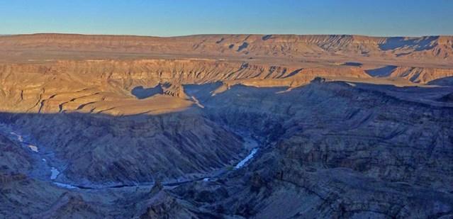 Fish River Canyon Sunrise, Namibia