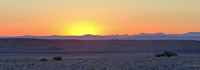 Hobas Sunrise, Fish River Canyon, Namibia