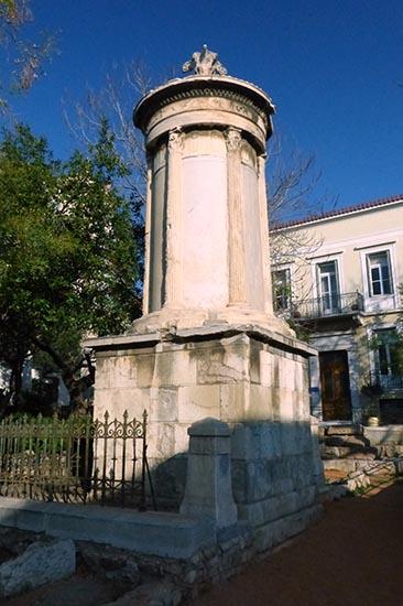Monument of Lysikrates - Jen Funk Weber