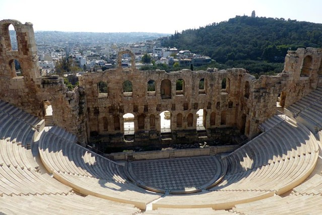 Odeon of Herodes Atticus - Jen Funk Weber