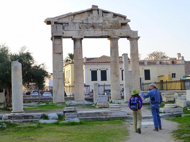 Roman Agora, Athens - Jen Funk Weber