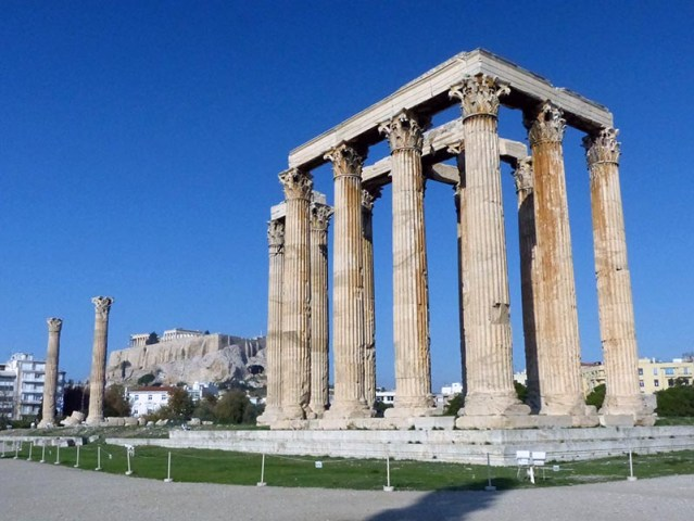 Temple of Olympian Zeus - Jen Funk Weber