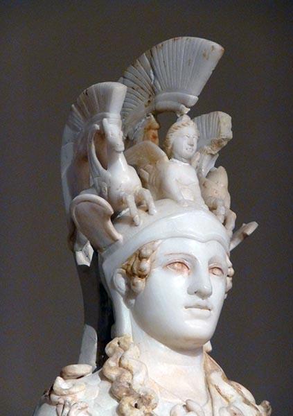 Athena statue, Roman replica - Jen Funk Weber