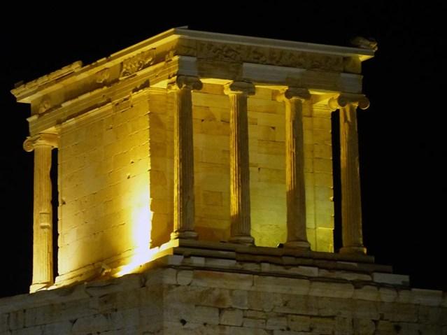 The Illuminated Temple of Athena Nike - Jen Funk Weber