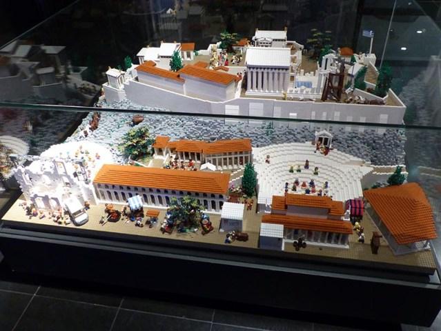 Lego Acropolis, Odeon side - Jen Funk Weber