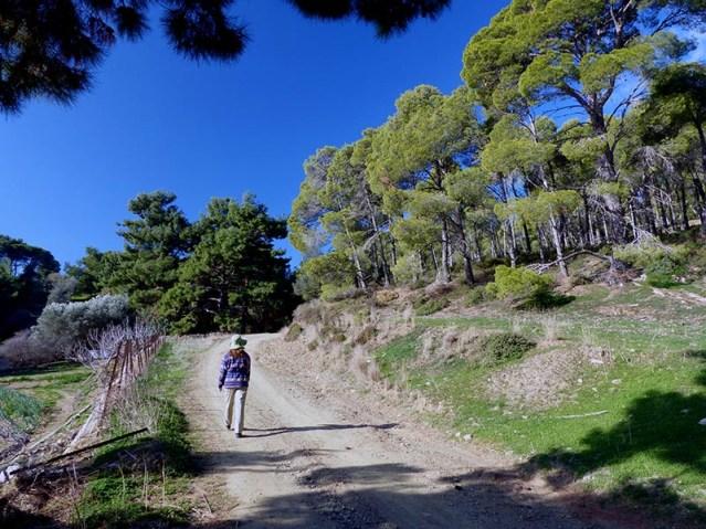 Walking on Leros, in Greece - Jen Funk Weber